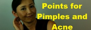 massage monday acupressure points for acne