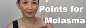 massage monday acupressure points for dark spots