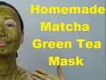 massage monday matcha green tea mask