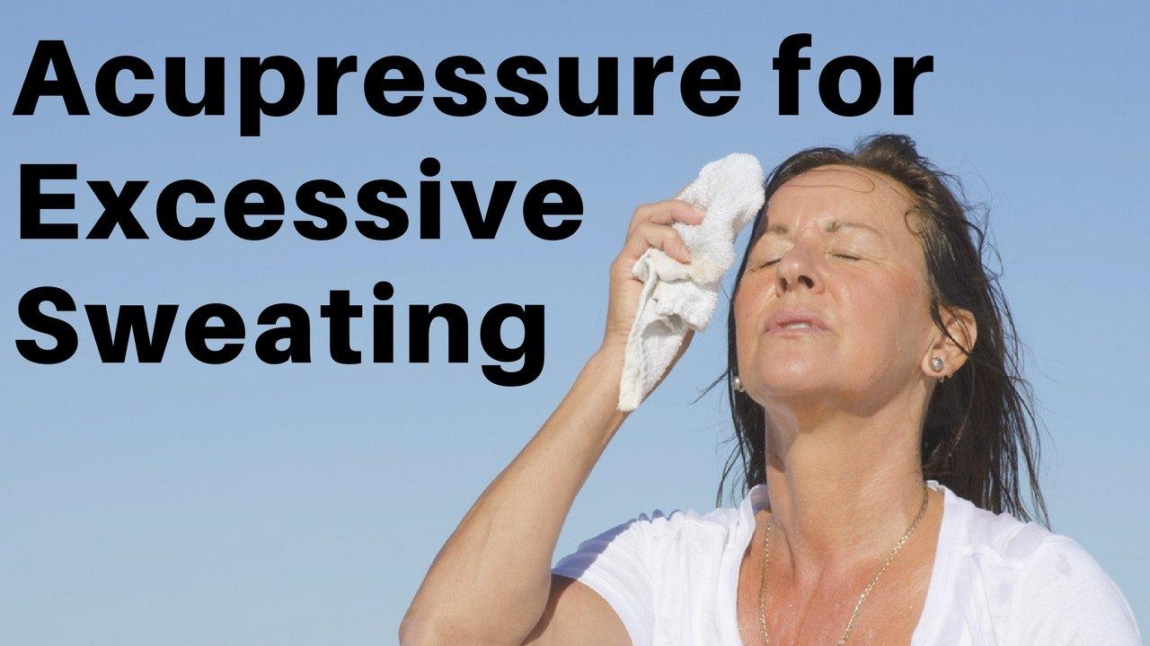 Massage Monday acupressure points for hyperhidrosis