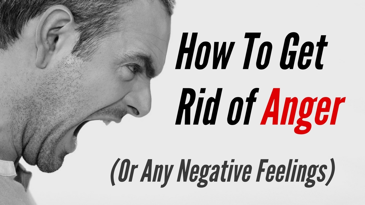Massage Monday how to get rid of anger or any negative feelings