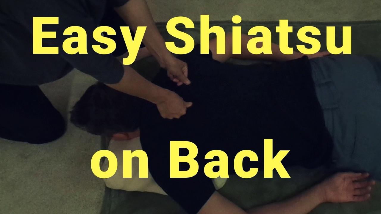 Massage Monday Easy Shiatsu Acupressure Technique