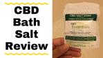 Massage Monday CBD bath salt review